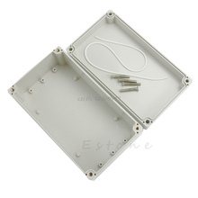 Hot Waterproof Plastic Electronic Project Enclosure Cover CASE Box 158x90x60mm R06 Drop Ship(China)