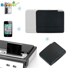 Binmer 1PC Bluetooth 30 Pin A2DP Music Receiver Adapter For iPhone iPod Dock Feb16 MotherLander(China)
