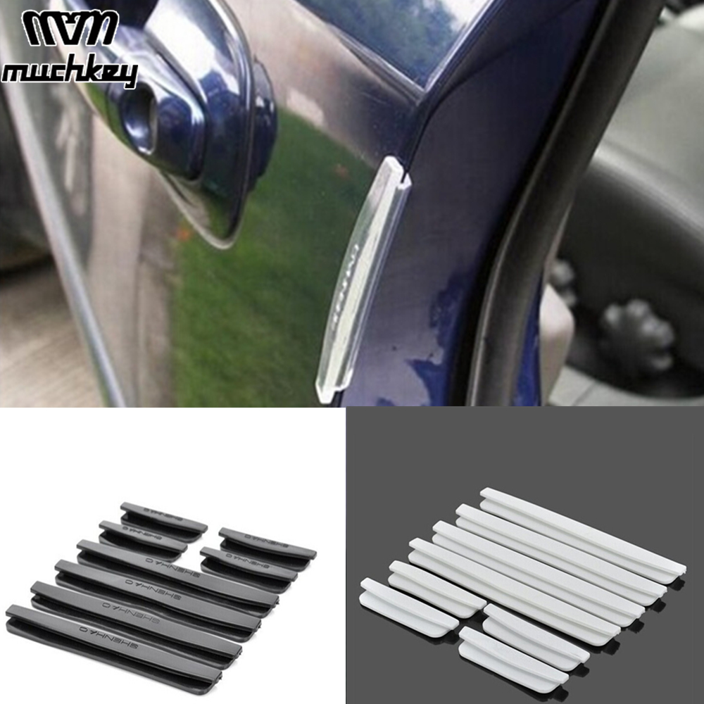 8*Car Door Edge Guard Trim Molding Strip Anti-rub Scratch Protector Parts