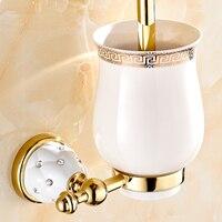 diamond bathroom accessories. European Diamond Toilet Brush Holder Bathroom Pendant Plated Gold Accessories S