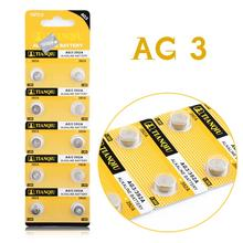AG3 384 392 SR41W SR41 L736 Alkaline Cell Button Batteries For Watch Toys 10pcs EE6204