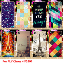 Soft TPU Phone Cases For Fly Cirrus 4 FS507 Effiel Towers Hard Cell Phone Back Covers Housings Sheaths Skins Shields Hood Bags