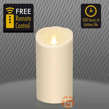 "3.5""*7"" Luminara Classic Candle with Timer and Remote Freeshipping"