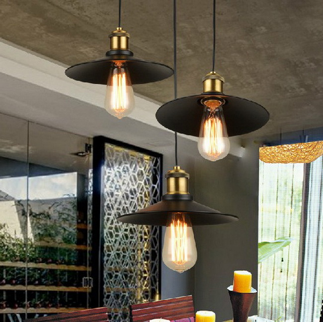 Three heads together Loft Vintage Home chandelier Iron Retro Nordic Dining Room Pendant Lamp Lights Lighting Village Restaurant<br>