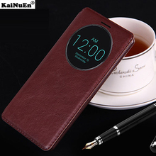 KaiNuEn luxury flip pu leather back capinha,capa,coque,cover,case for lg g3 g 3 d850 d855 original phone cases accessories(China)