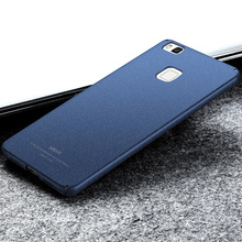 For Huawei P9 Lite Case Huawei P9 Lite Cases MSVII Super Slim Smooth Matte Hard Cover For Huawei Ascend P9 G9/ Lite Phone Case