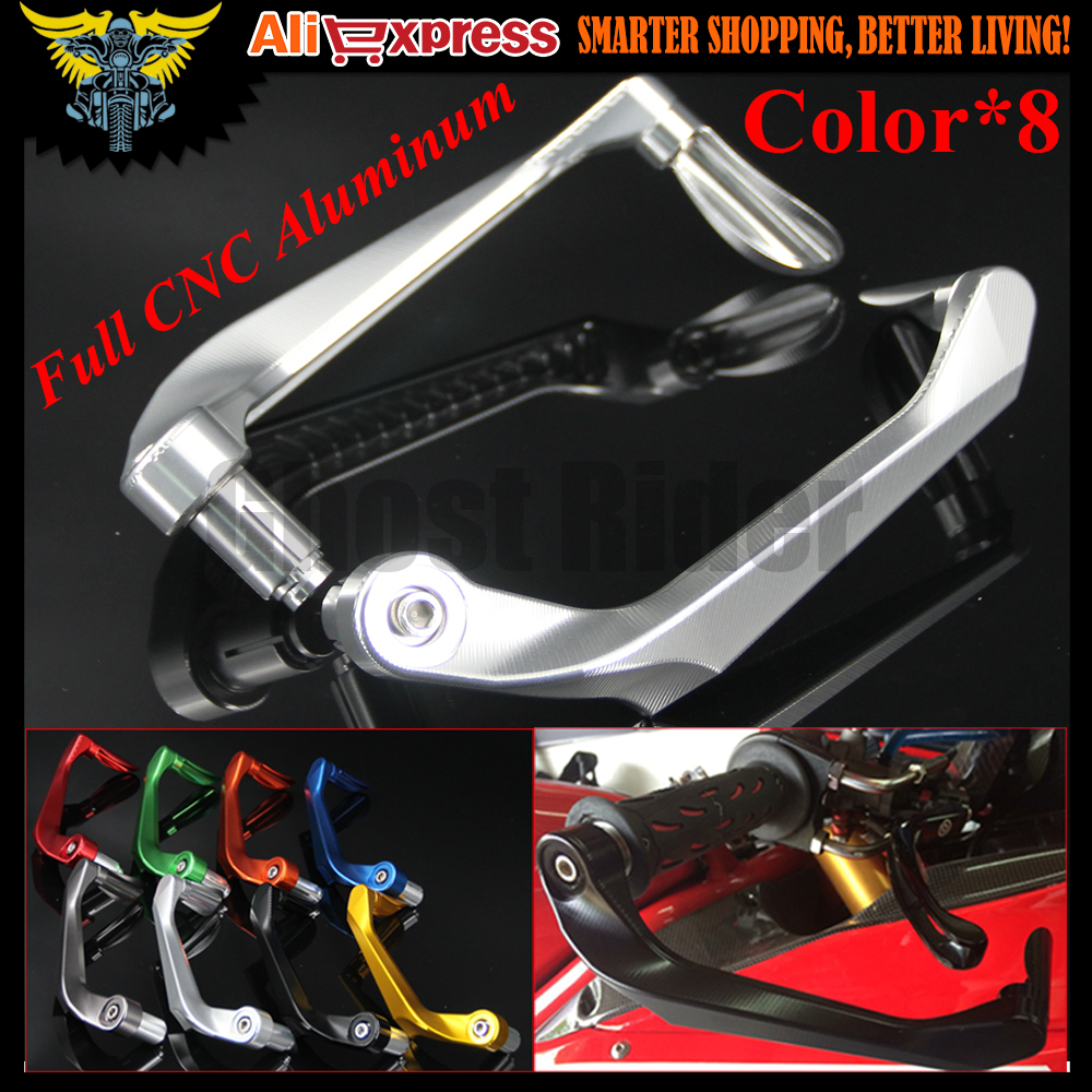 For Triumph 675 STREET TRIPLE R/RX SCRAMBLER. SPEED FOUR 7/8 22mm CNC Motorcycle Handlebar Brake Clutch Levers Protector Guard<br>