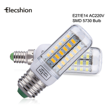 Super bright E27 LED Bulb light Replace CFL 7W 12W 15W 20W 25W 30W 35W 220V Spotlight 5730SMD 24 36 48 56 69 72 96leds lamp bulb