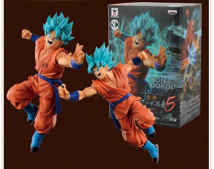 Anime Figure 15 CM Dragon Ball Super Saiyan Son Goku PVC Action Figures Collectible Model Toys Christmas Gift Brinquedos<br><br>Aliexpress