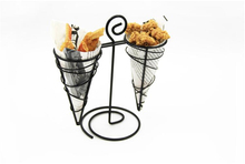 Restaurant creative tableware American coffee shop french fries rack bar creative iron rack potato chips racks snack rack