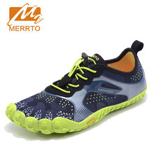 MERROT Man Anti Skid Outsole Aqua Shoes Quick Drying Sneakers Sports Sandal Shoes Breathable Flats Outdoor Five Finger Shoes(China)