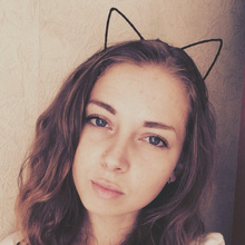 Stylish Women Girls Cat Ear Headband Hair Bands Sexy Headband Self Photo Prop Cloth Hair Band Accessories(China)