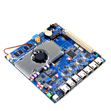Supporting DC 12V Power Supply motherboard ATOM D2550 Dual Core 1.8G Firewall Motherboard with 4lan and VGA