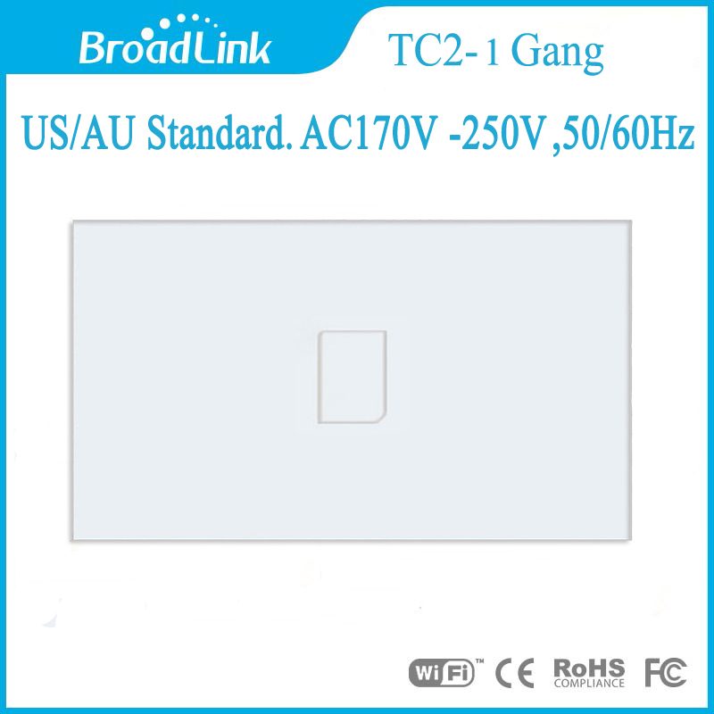 Broadlink US/AU 1/2/3 gang  Wireless Remote Control Touch Switch,Wall Light Switch,Touch Wall Switch For Smart Home<br><br>Aliexpress
