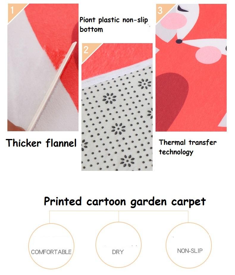 New Lovely Animal Round Carpet Diameter 60/80/100/120CM Super Soft ...