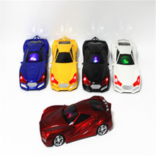 Fashion Mini Car Vehicle Shape Speaker FM Radio USB Micro SD TF Card MP3 Music Player Stereo Subwoofer for iPod PC Cellphone