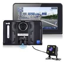 7inch Android  Vehicle GPS Navigation Rear view cameraTruck Car GPS Navigator Tablet PC Car Radar Detector
