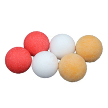 6pcs 36mm Matte Foosball Table Yellow+Red+White Soccer Table Fussball Indoor Family Game Frosting Ball Sports Entertainment