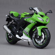 Freeshipping Maisto Kawasaki ZX-10R Ninja 1:12 Motorcycles Diecast Metal Sport Bike Model Toy New in Box For Kids