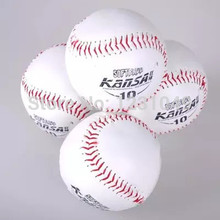10 Pcs size10 wholesale Brand New White Baseball Practice Training competition softball Sport Team Game beisebol