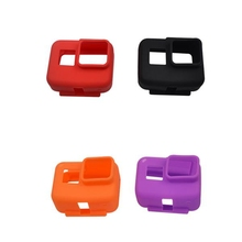 Colorful Silica Gel Protective Cover Case Mount Protector Housing for Gopro Hero 5 / 6 Sports Action Camera Spare Parts Accs(China)