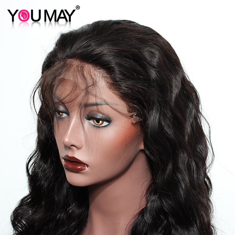 You-May-Hair-Brazilian-Non-remy-Pre-Plucked-360-Lace-Frontal-Wigs-With-Baby-Hair-Body (3)