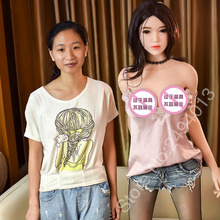 Buy 6YE premium165cmnew real silicone sex dolls 165cm skeleton adult japanese love doll vagina lifelike pussy realistic sexy doll