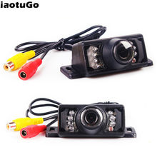 iaotuGo Car Rearview Camera Wireless/ Wire Night Vision Reverse Camera Parking Assist RCA or 2.5mm Jack Optional Monitor/Mirror(China)