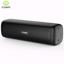 Cowin 6110 Mini Wireless Bluetooth 4.1 Stereo Portable Speaker with 16W Enhanced Bass Microphone TF Card Outdoor MP3 Player(China)