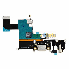 100% New Charger Charging Port Dock USB Connector Data Flex Cable For iphone 6 6G Ribbon Replacement Parts