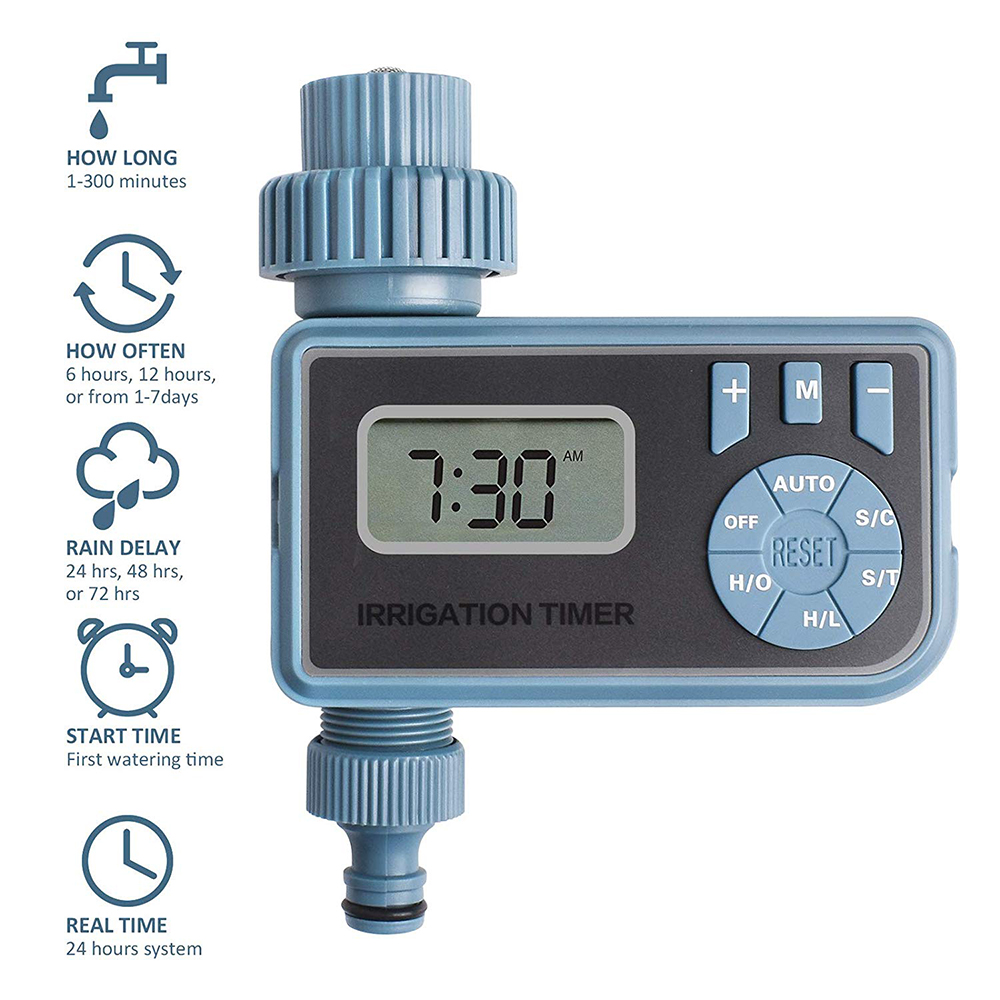 Irrigation-Controller-System Water-Timer Electronic Smart Automatic Digital with Lcd-Display title=