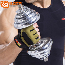Buy 2017 Gym Fitness Gloves Men Weight Lifting Bodybuilding Gloves Barbell Dumbbells Workout Home Gym Weightlifting HJ20 for $10.64 in AliExpress store