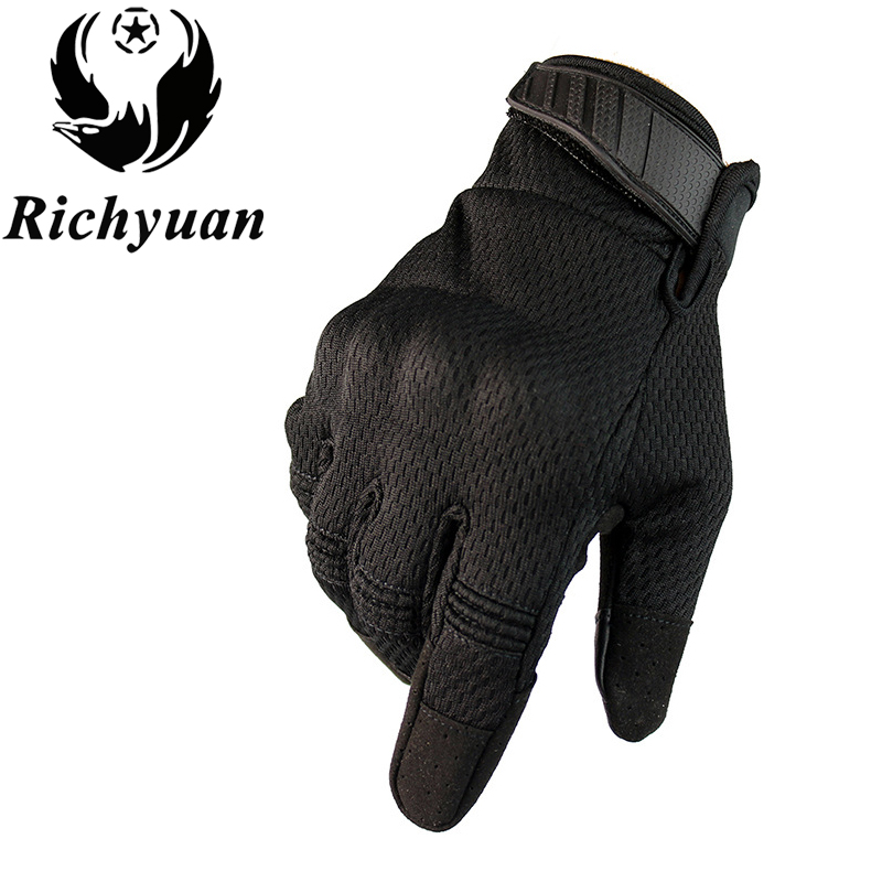 Gloves Hard-Knuckle Shooting Police-Duty-Fingerless Military-Combat Half-Finger Tactical title=