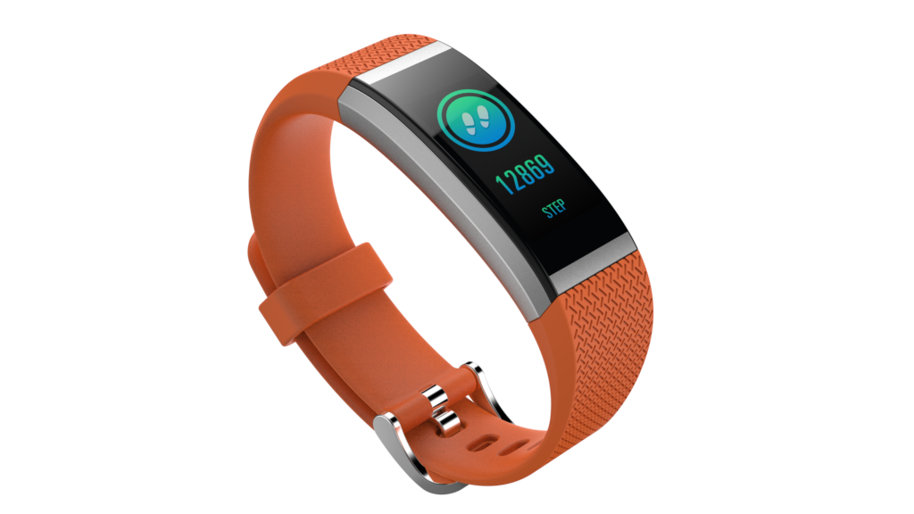 TORTOYO FIT HR2 Smart Band Bluetooth LCD Heart Rate Sleep Monitor Smart Bracelet Fitness Tracker Wristband for IOS Android Phone