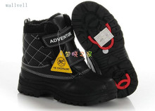 wallvell Exports to Italian boys and girls winter boots child warm snow boots slip cold of minus 30 degrees shoes