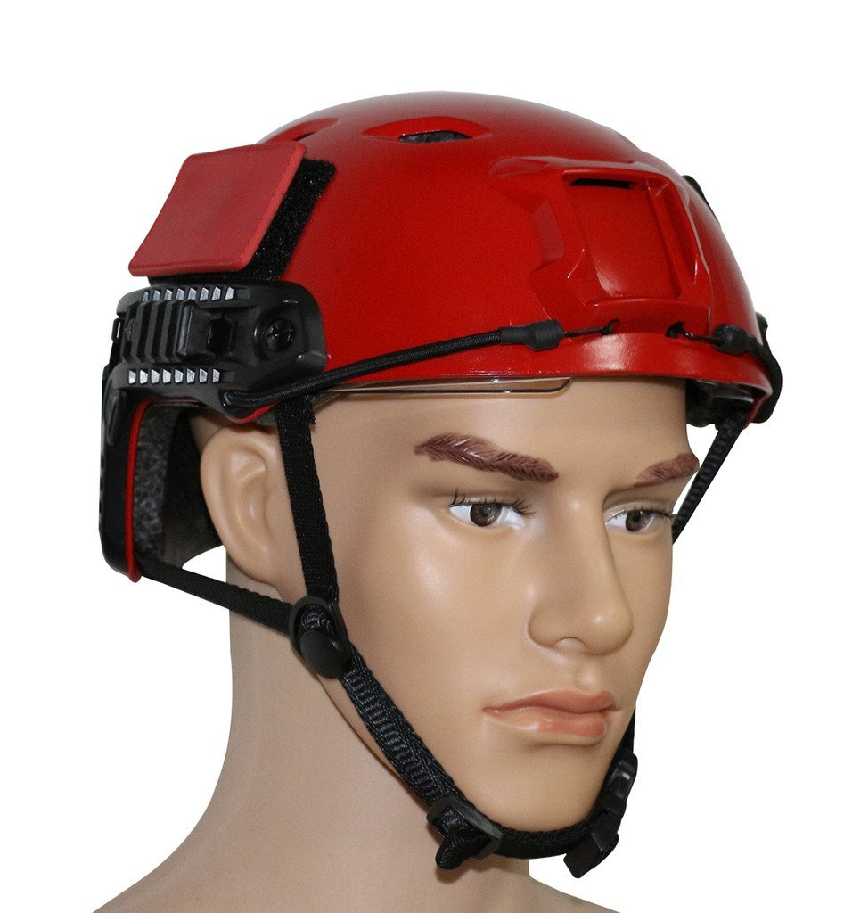 VILEAD ATAirsoft PJ/MH/BJ FAST Type Protective Military Tactical Helmet Pararescue Jump Helmet Cycling Helmets RED<br>