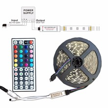 RGB led controller 44 Keys Mini DC12V 12A with IR Remote Control Dimmer wireless for LED Strip