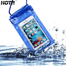 for Iphone 7 Case Waterproof For Apple 7 7 plus 6 6s Plus 5s SE Pouch Bag Underwater Watertight Cover Full Protect Case Fundas