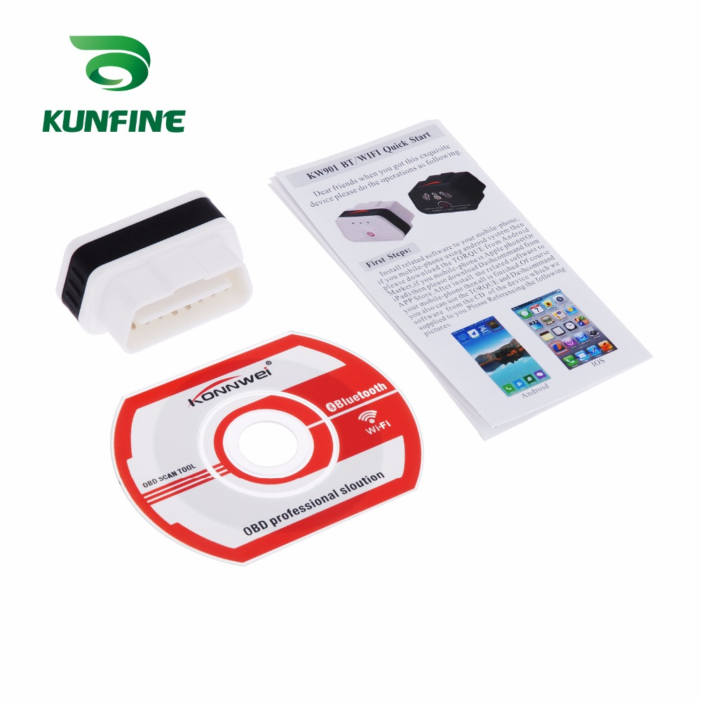 Auto Diagnostic Tool Car engine code Scanner Vehicle fault reader KF-A1184_8219