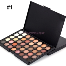 Eye Shadow 40 Colors Professional Makeup  Frosted Nude Pearl EyeShadow Palette #H056#