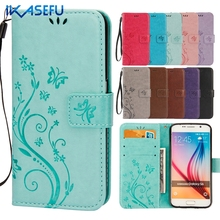 A3 A5 A7 J3 J5 2016 Leather Case for Samsung Galaxy A3 A5 2017 S6 S7 Edge S8 Plus S3 S4 S5 Mini J1 J3 J5 Grand Core Prime Cover