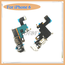 "Buy 5pcs/lot New Charging Charger Port USB Dock Connector Flex Cable iPhone 6 4.7"" 6G Headphone Jack Mic Flex Cable Ribbon for $9.53 in AliExpress store"