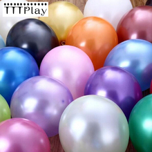 Good Quality 10pcs/lot 12 Inch Pearl Latex Balloons Celebration Wedding Party Decoration Balloons Happy Birthday Party Supplies(China)