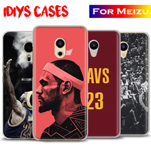 King LeBron James LBJ New Coque Phone Case Shell Cover MEIZU Meilan M3 M3S M3e M5 M3Note M5Note MX6 M3X U20 PRO5 PRO6 PRO6S