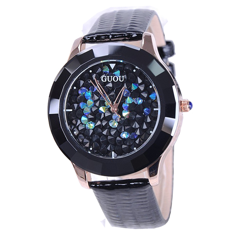 Wristwatches Quartz-Watches Ceramic Fashion Waterproof Womens Watches Genuine Leather Color Optional Factory Outlet<br><br>Aliexpress