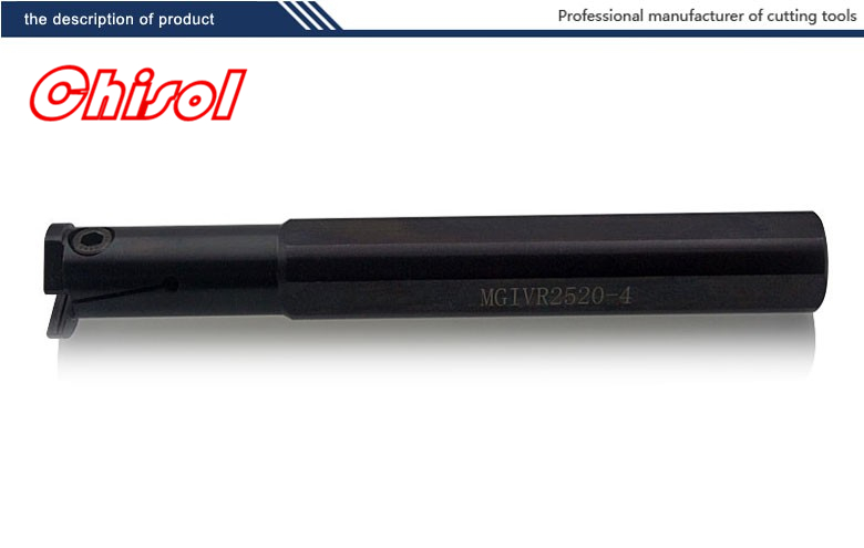 hot selling internal grooving and turning tool holder MGIVL2520-4/MGIVR2520-4 for carbide insert MGMN400-M<br>