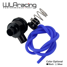 WLRING STORE - Blow Off Valve S Diverter Turbo BOV Boost For VW, Passat,SEAT,Skoda, Audi A4, A6, TT 1.8T with FR logo WLR5759(China)