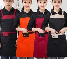 2017 Women Apron Kitchen Dining Apron Housewife Essential Supplies Delantal Cocina Avental Aprons Free Shipping New Avental