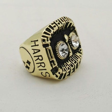 Factory Direct Sale Replica Newest Design 1975 Super Bowl Pittsburgh Steelers Championship Rings(China)