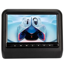 Pumpkn 9 inch TFT LCD Wide Digital Screen Universal Car Headrest DVD Player Multimedia Monitor Black Gray Beige